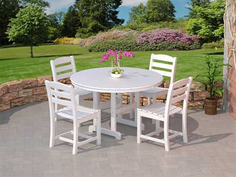 POLYWOOD® La Casa Cafe Recycled Plastic Dining Set