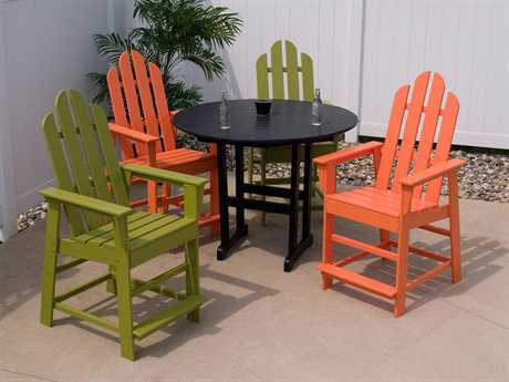 POLYWOOD® Long Island Recycled Plastic Counter Set