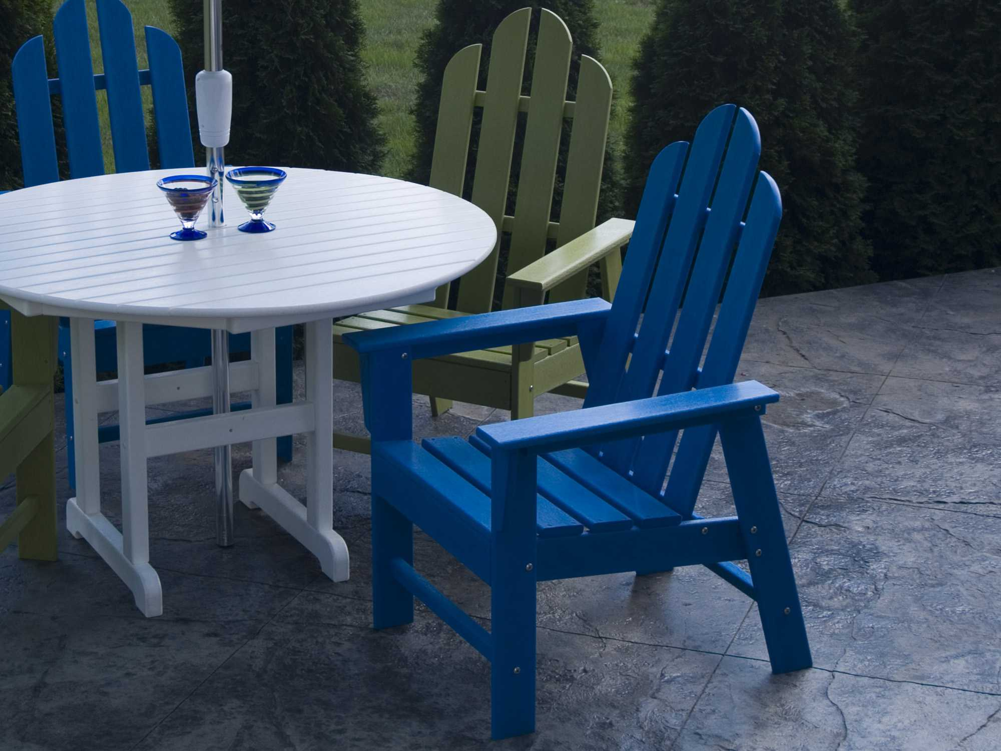 Polywood Long Island Dining Set Pwlongids