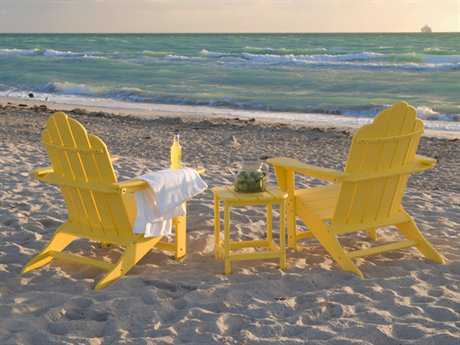 POLYWOOD® Long Island Recycled Plastic Lounge Beach Set PWLONGILS