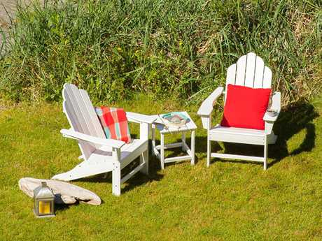 POLYWOOD® Long Island Recycled Plastic Lounge Set PWLONGISLNGESET11