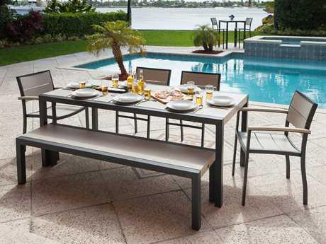 POLYWOOD® Metro Recycled Plastic Dining Set