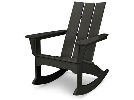 POLYWOOD® Modern Recycled Plastic Adirondack Chair PatioLiving