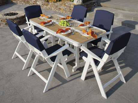 POLYWOOD® Nautical Dining Set