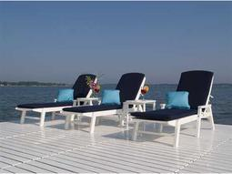 Nautical Chaise Lounge Set