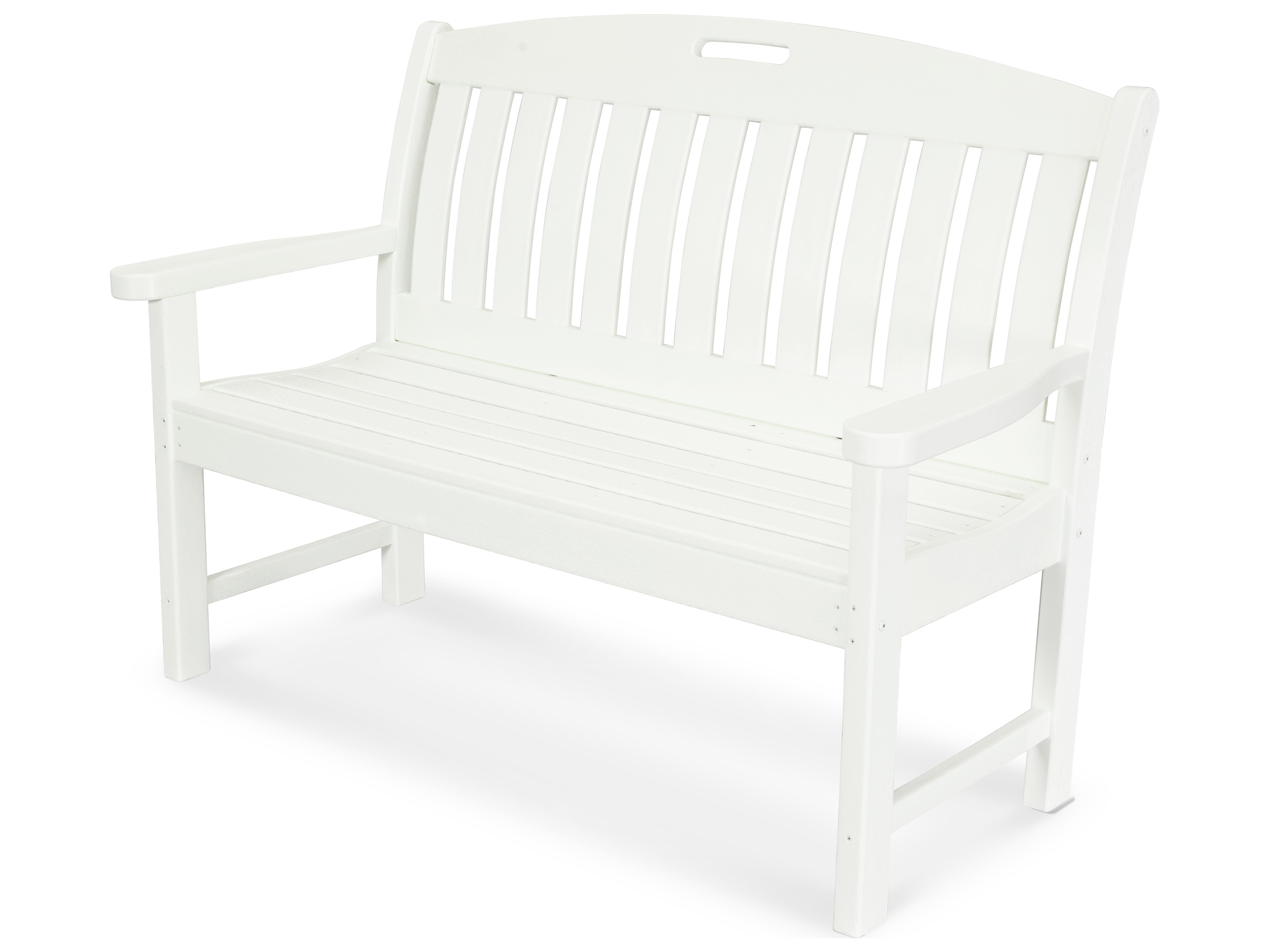 Polywood 174 Nautical Recycled Plastic 48 Bench Pwnb48