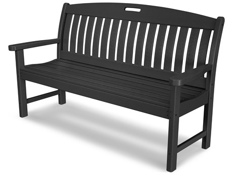 POLYWOOD® Nautical Recycled Plastic 60 Bench