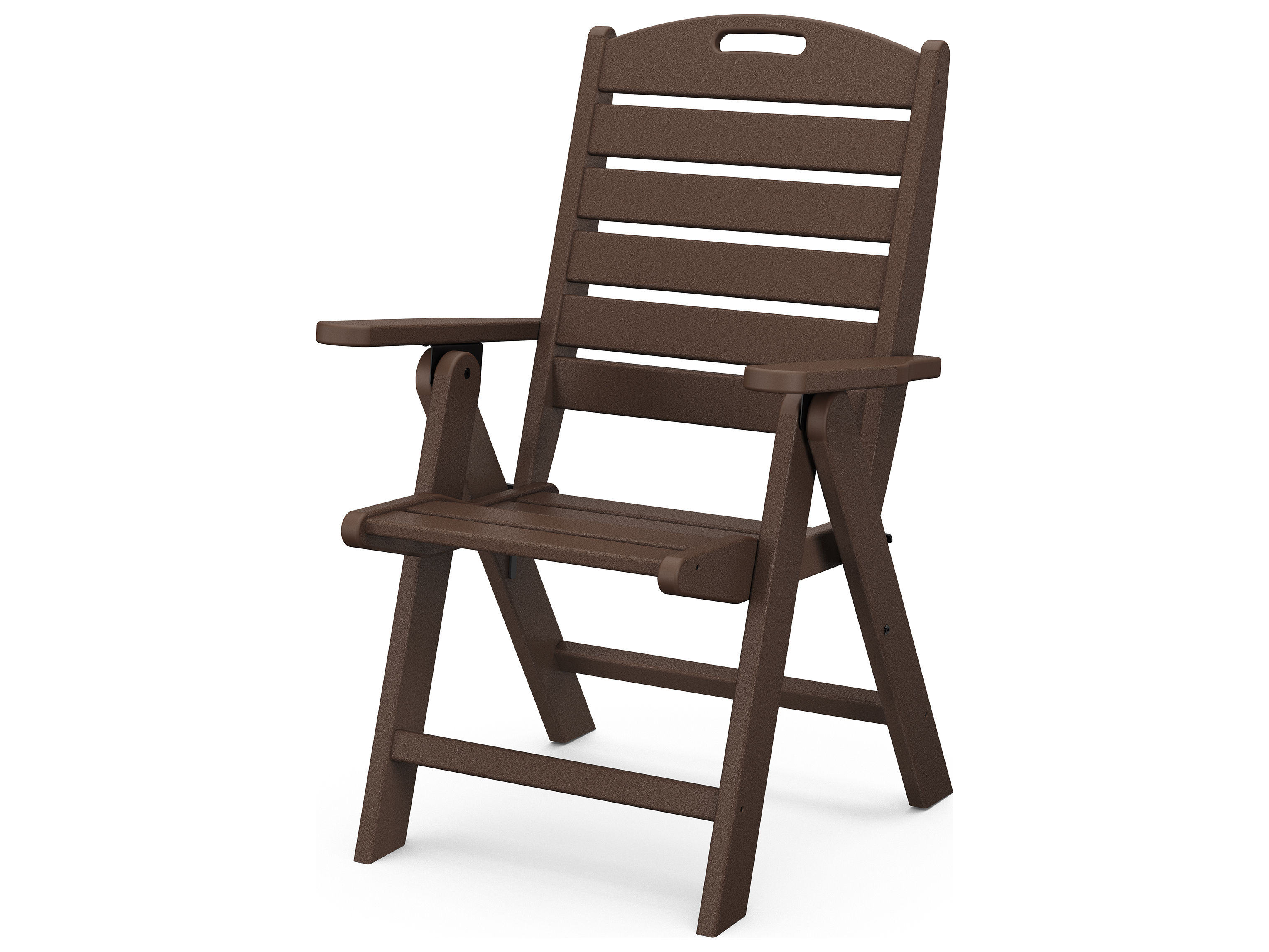 Polywood 174 Nautical Recycled Plastic Highback Chair Nch38