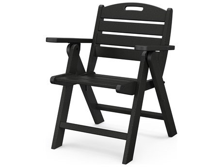 POLYWOOD® Nautical Recycled Plastic Lowback Lounge Chair