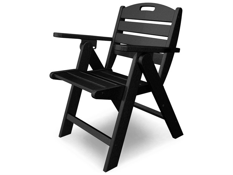 POLYWOOD® Nautical Recycled Plastic Lowback Chair