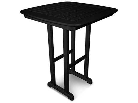 POLYWOOD® Nautical Recycled Plastic 31''Wide Square Counter Height Table