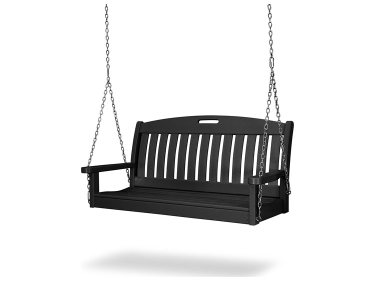 POLYWOOD® Nautical Recycled Plastic 48 Swing