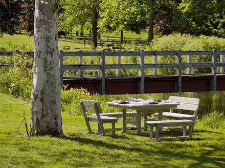 POLYWOOD® Park Recycled Plastic Dining Set