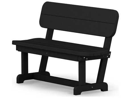 POLYWOOD® Park Recycled Plastic 48 Bench