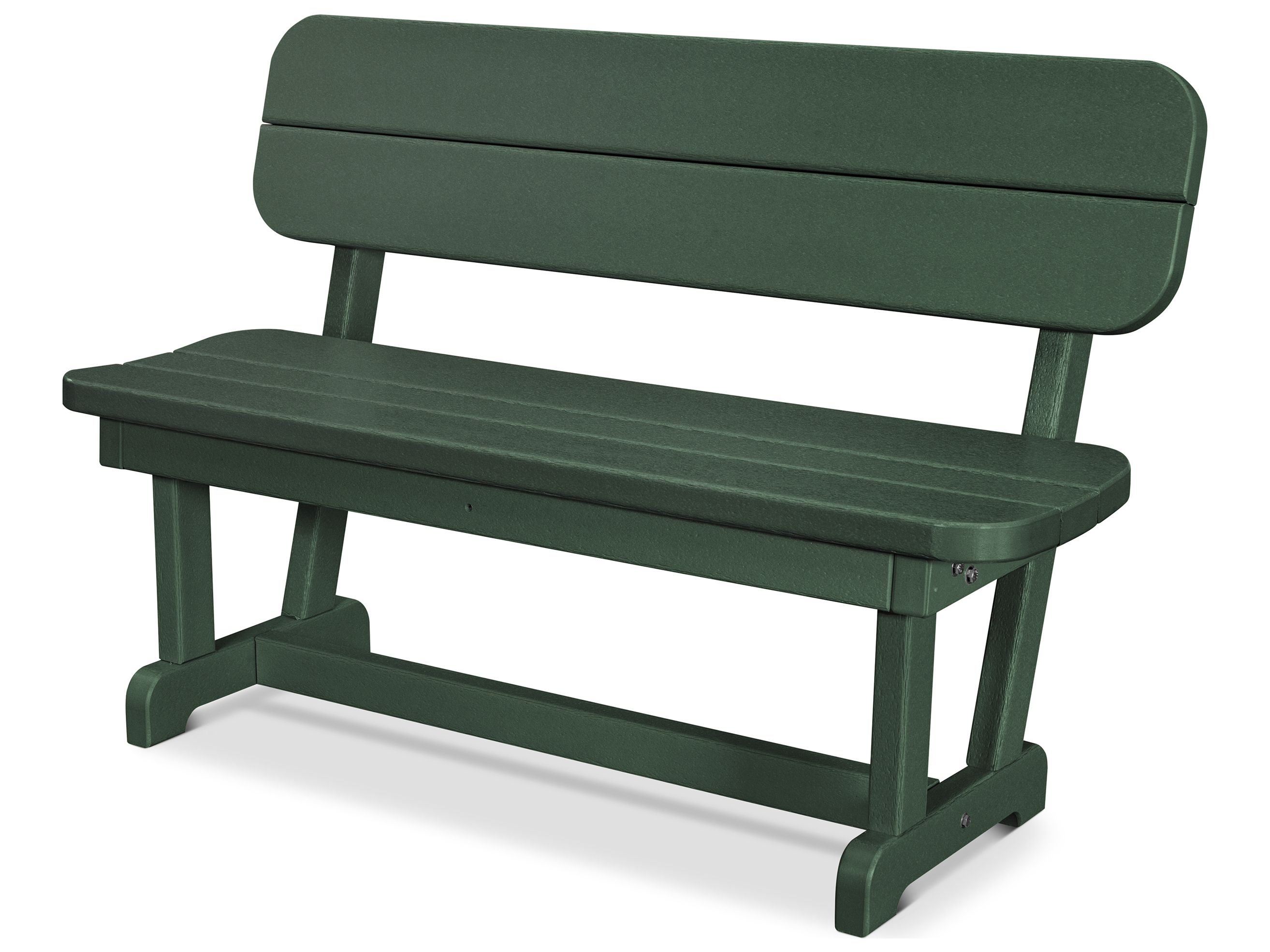 Polywood Park Recycled Plastic 48 Bench Pwpb48
