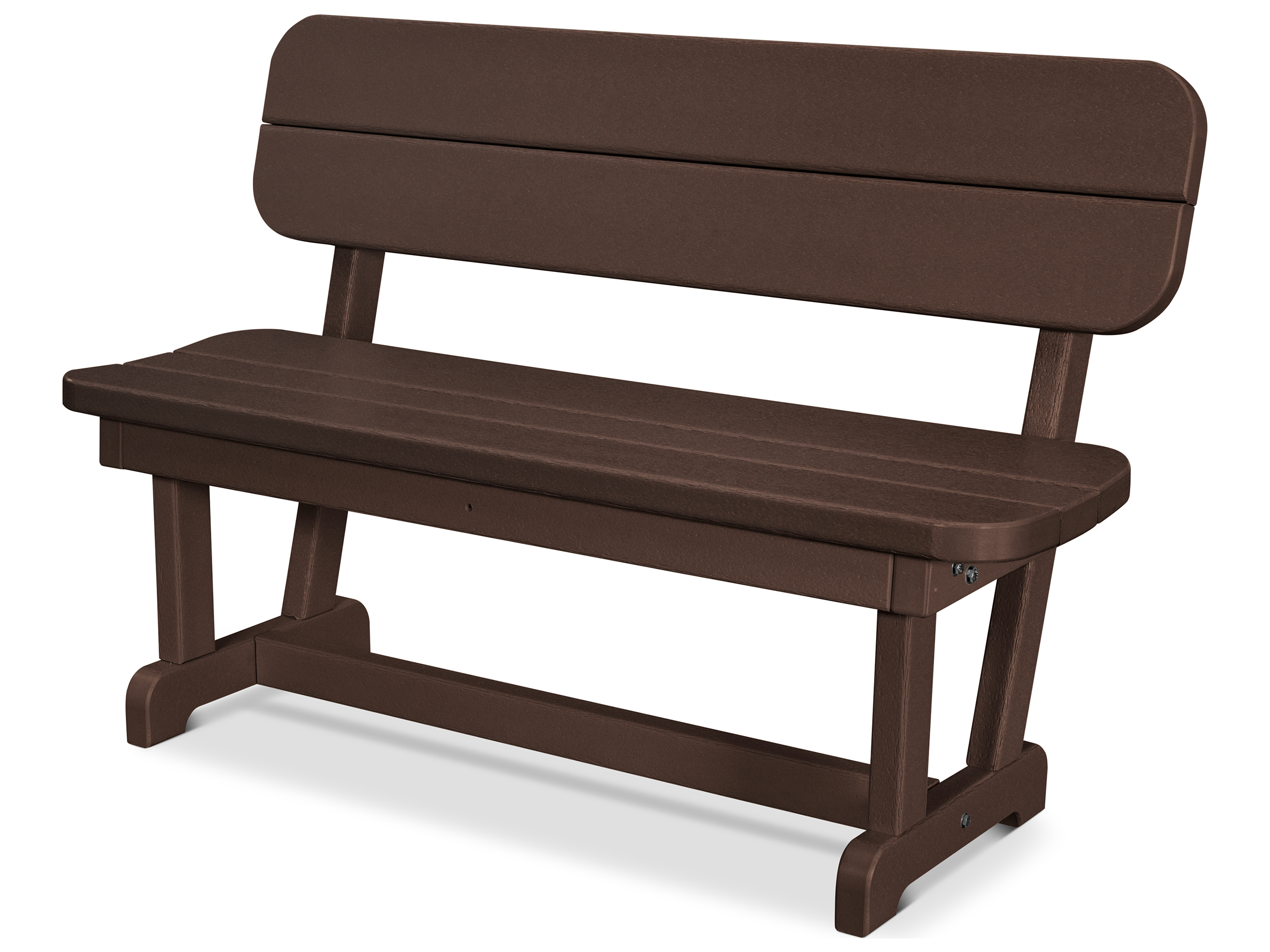 Polywood Park Recycled Plastic 48 Bench Pb48: polywood bench