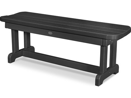 POLYWOOD® Park Recycled Plastic 48 Backless Bench