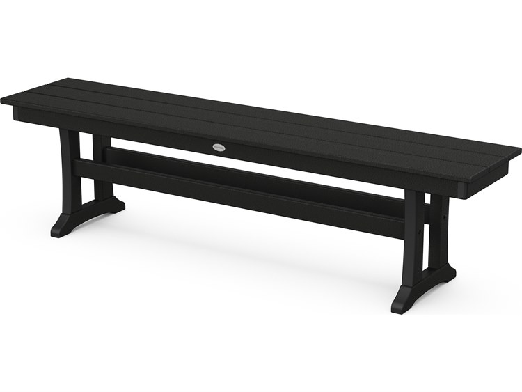 Fabulous Polywood Farmhouse Recycled Plastic 65 Bench Gmtry Best Dining Table And Chair Ideas Images Gmtryco