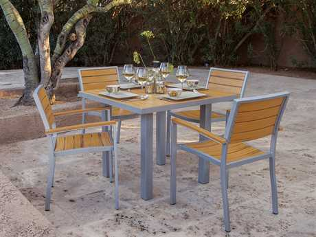 POLYWOOD® Plastique Recycled Plastic Dining Set