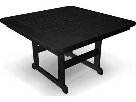 POLYWOOD® Park Recycled Plastic 48 Square Table