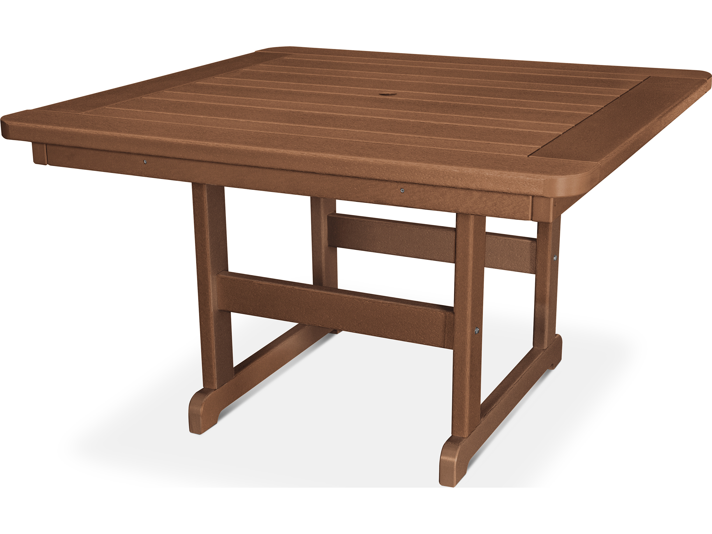 POLYWOOD Park Recycled Plastic 48 Square Table