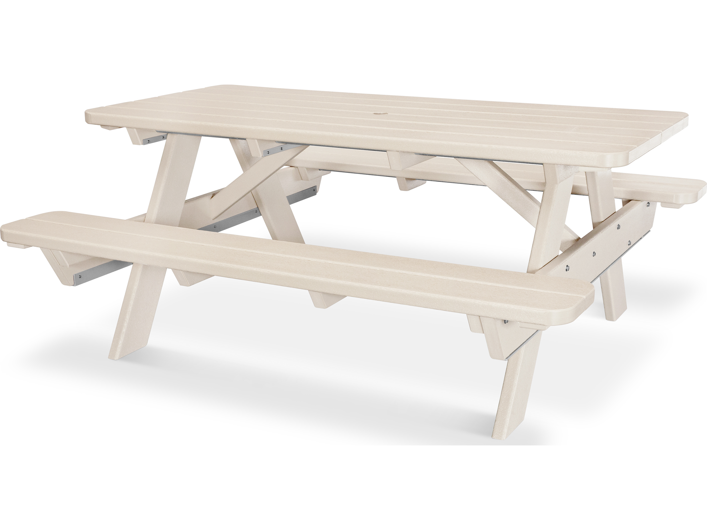 Polywood 174 Park Recycled Plastic 6 Picnic Table Pt172