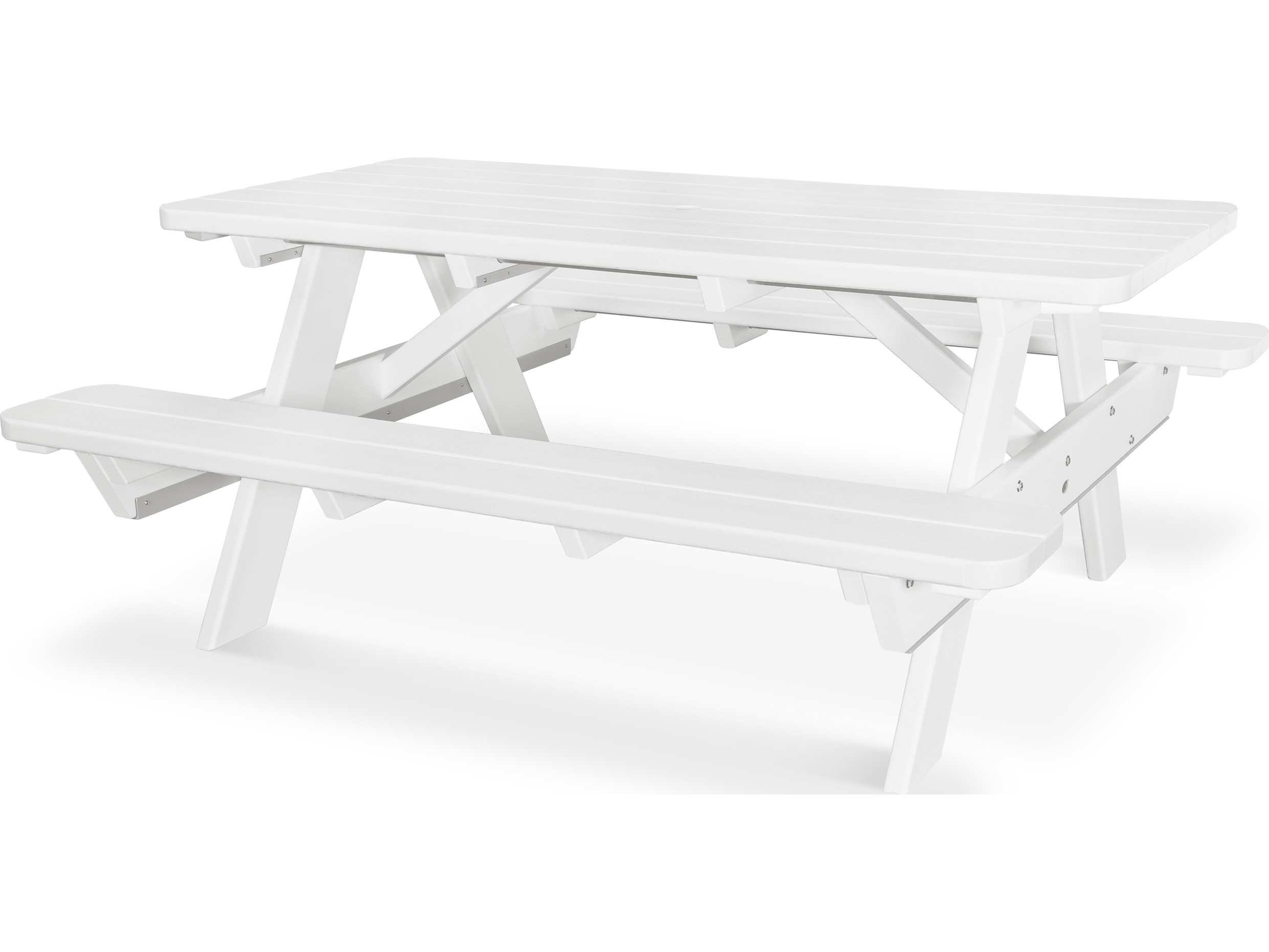 POLYWOOD Park Recycled Plastic Picnic Table PT - Polywood park picnic table