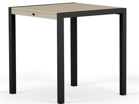 POLYWOOD® MOD Solid Recycled Plastic 36 Square Counter Table