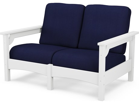 POLYWOOD® Club Recycled Plastic Loveseat PatioLiving