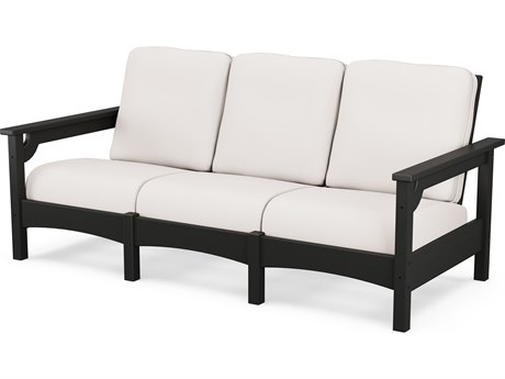 POLYWOOD® Club Recycled Plastic Sofa