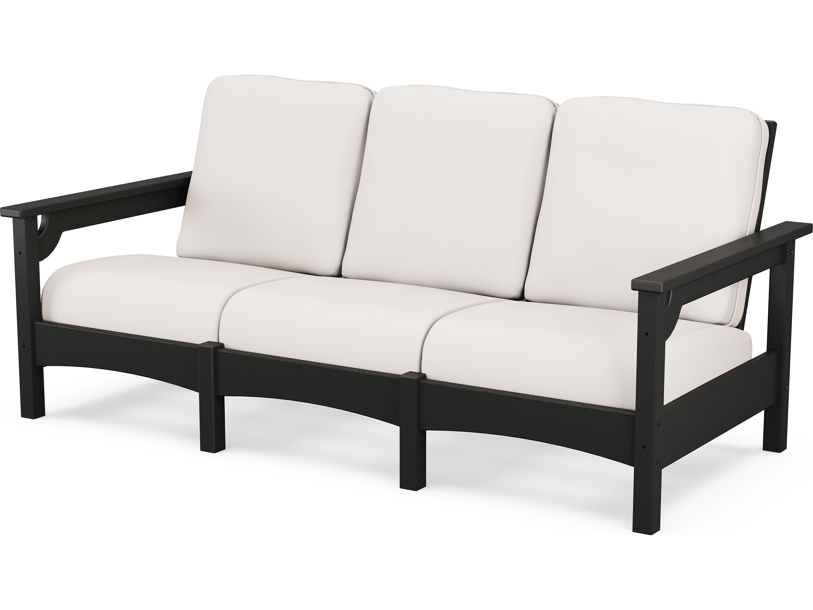 Polywood 174 Club Recycled Plastic Sofa Pwclc71