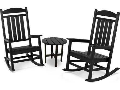POLYWOOD® Presidential Recycled Plastic Rocker 3-Piece