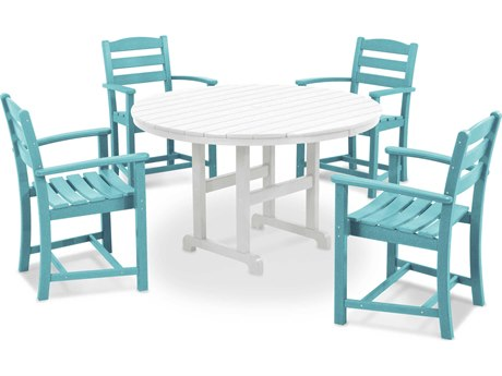 POLYWOOD® La Casa Cafe Recycled Plastic Dining Set PatioLiving