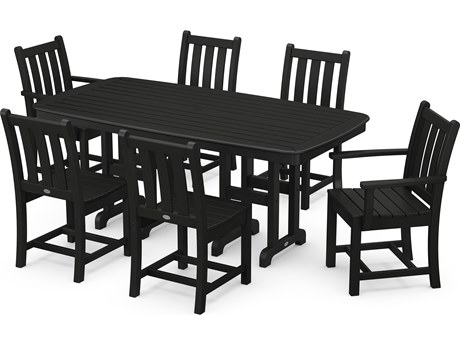 POLYWOOD® Traditional Garden Recycled Plastic Dining Set PatioLiving