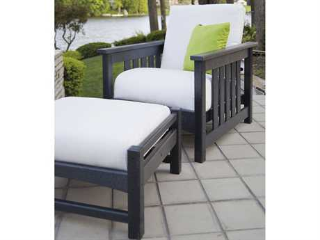 POLYWOOD® Mission Recycled Plastic 2-Piece Deep Seating Set