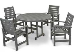 Signature Recycled Plastic 5-Piece Dining Set