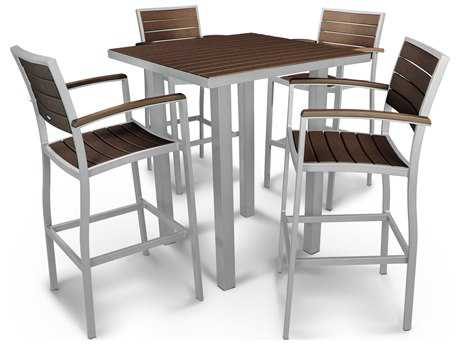 POLYWOOD® Euro®®5-Piece Bar Set