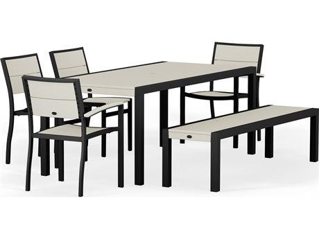 POLYWOOD® Metro Aluminum 6-Piece Dining Set