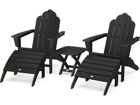 POLYWOOD® Long Island Recycled Plastic Adirondack 3-Piece Set