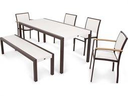 Bayline Aluminum 6 Piece Dining Set