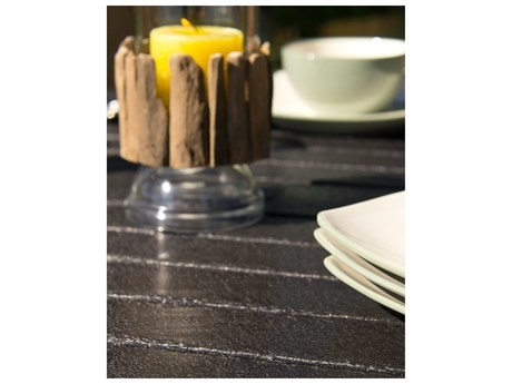 POLYWOOD® Coastal Black Recycled Plastic 5-Piece Bar Set