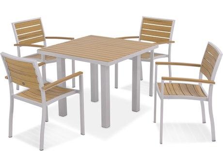 POLYWOOD® Plastique 5-Piece Dining Set