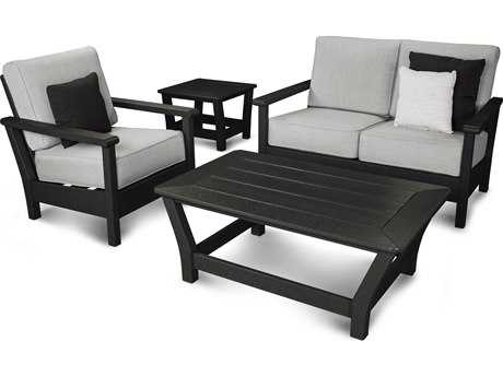 POLYWOOD® Harbour Recycled Plastic 4-Piece Set