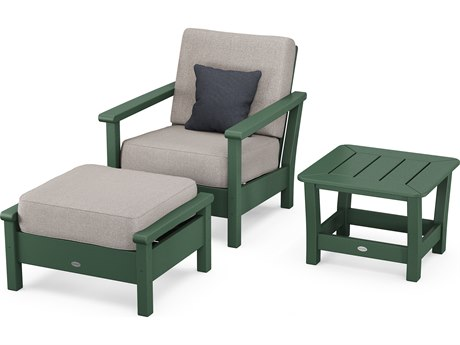 POLYWOOD® Harbour Recycled Plastic 3-Piece Set PatioLiving