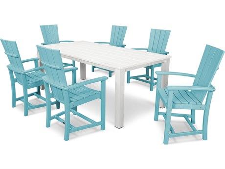 POLYWOOD® Quattro Recycled Plastic Dining Set