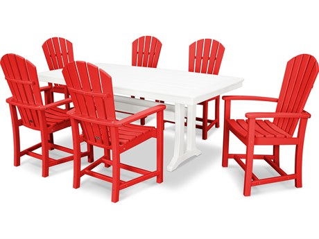 POLYWOOD® Palm Coast Recycled Plastic 7 Piece Dining Set