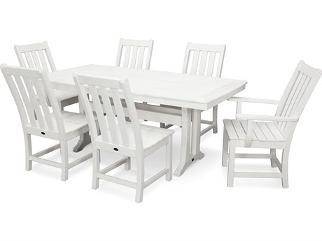 POLYWOOD Vineyard Recycled Plastic Dining Set