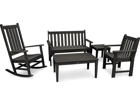 POLYWOOD® Vineyard Recycled Plastic 3 Piece Lounge Set