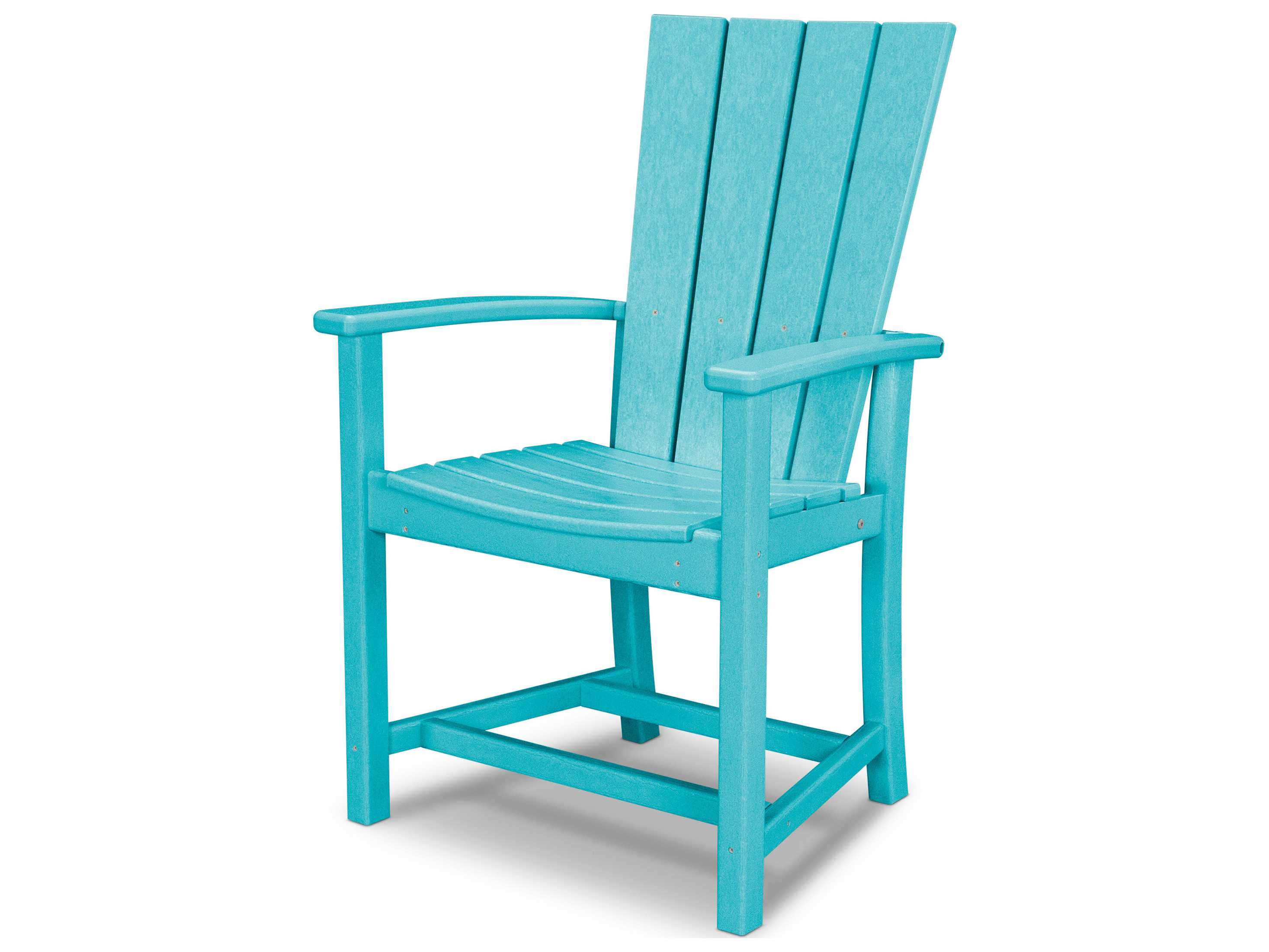 Polywood 174 Quattro Recycled Plastic Adirondack Dining Chair