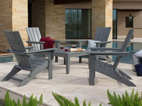 POLYWOOD® Quattro Recycled Plastic Lounge Set